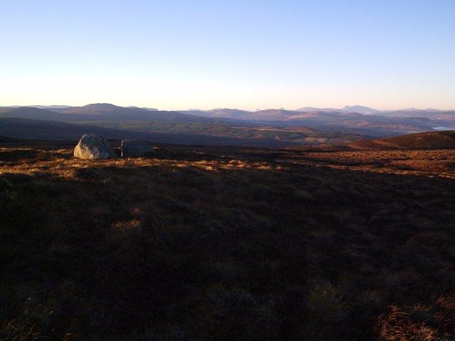 A view from Beinn Clach an Fheadain