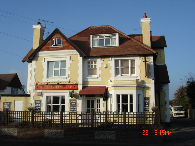 The Felpham Club, Felpham Way, Felpham