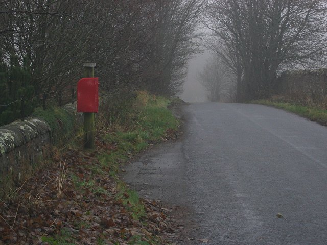 Postbox, Whitmuir