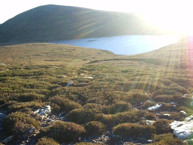 Loch Muigh bhlaraidh & Cnoc Muigh- bhlaraidh