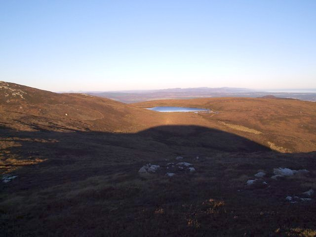 Loch Beag from Beinn Clach an Fheadain