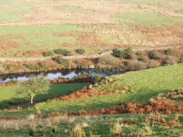 The River Luce valley about 3 km North of New Luce village.