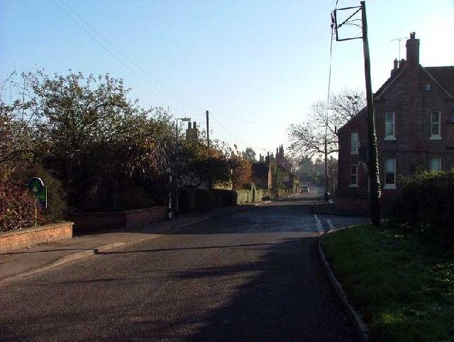 Main Street Upton N. Notts