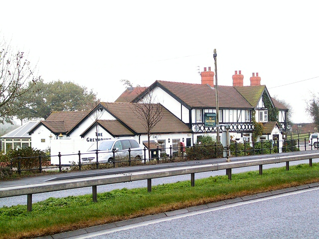 The Greyhound at Yarlet