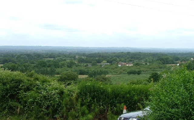 View from Lower Knowle Hill Farm, Ulcombe