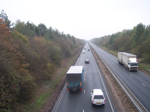 The A40(T) Gloucester to the M5 and Cheltenham