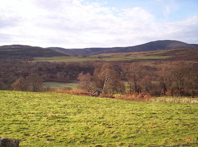 Fields with Cornescorn Farm