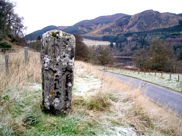 The Priest or Chapel Stone, near Wester Clunie
