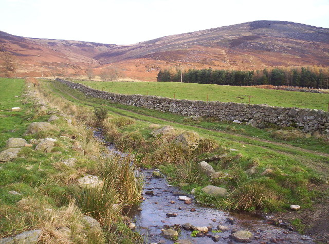Track and Burn in Glen Esk