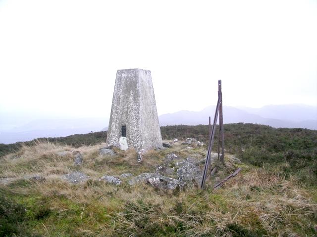 Summit, Meall a' Charra