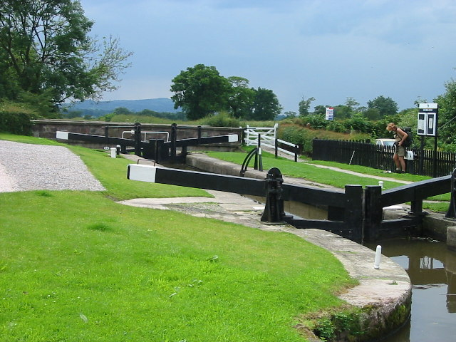 Lock at North Rode