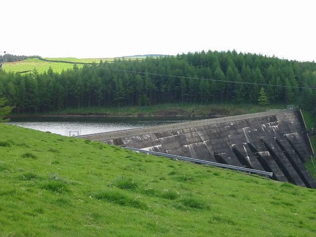 Dam at Lamaload Reservoir