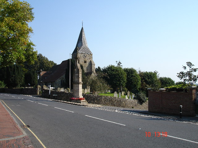 Burwash Church and Memorial East Sussex