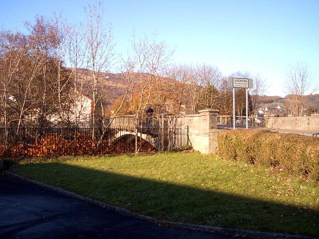 South entrance to Aberfan