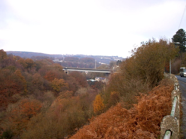 A472 Viaduct at Fiddlers Elbow
