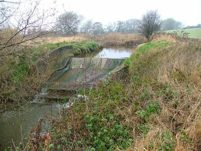 Weir, Greatham Creek