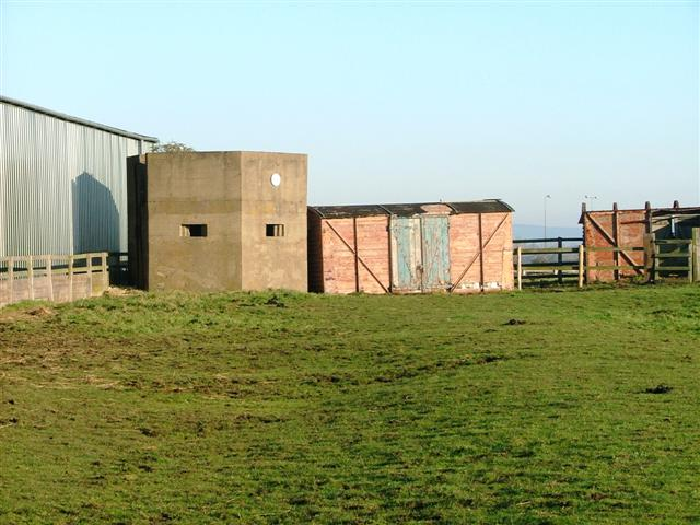 Pill Box, Stainsby Grange Farm