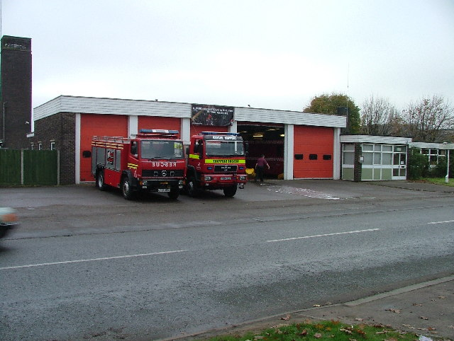 Hatfield Fire and Rescue Station.