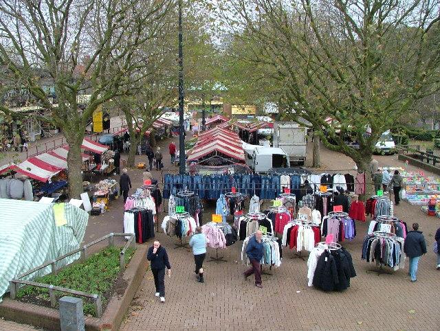 Hatfield market.