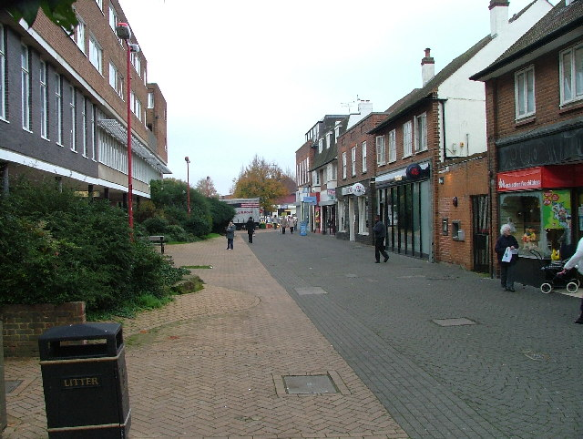 Hatfield town centre.