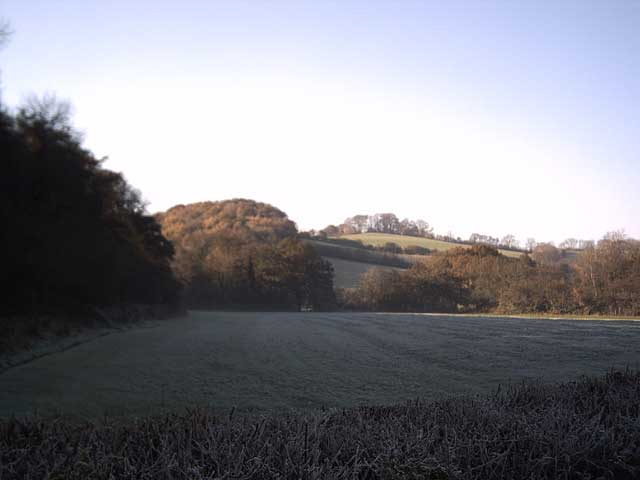 Frosty Farmland near Westacott Wood