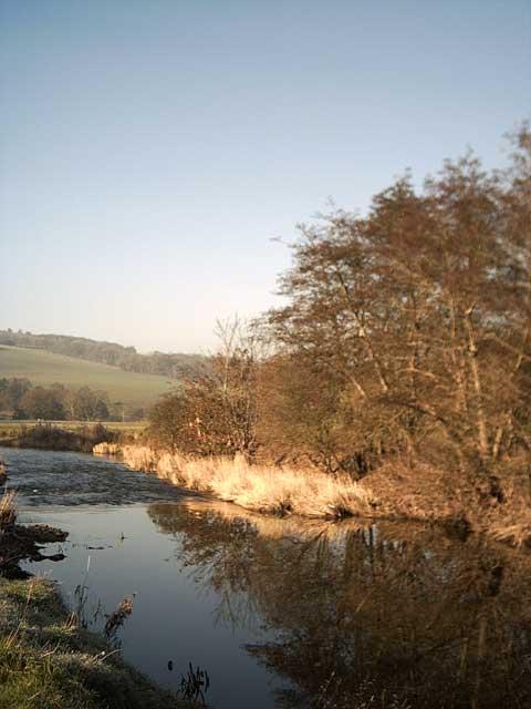 River Taw near Chenson Bridge
