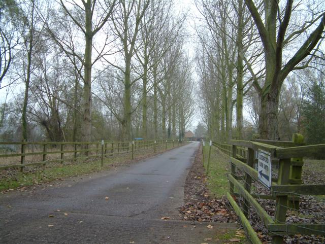 The Entrance to Queensford Farm