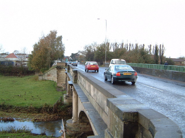 Bridge over the River Penk at Radford Bank