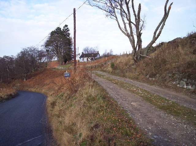 Hillock Farm and Track