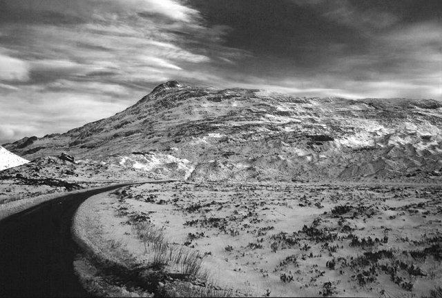 Sgurr Dubh from Glen Torridon.