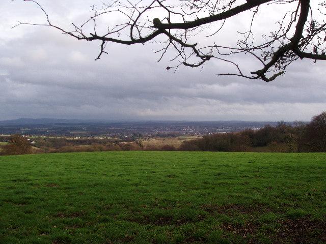 Hills above Cleobury