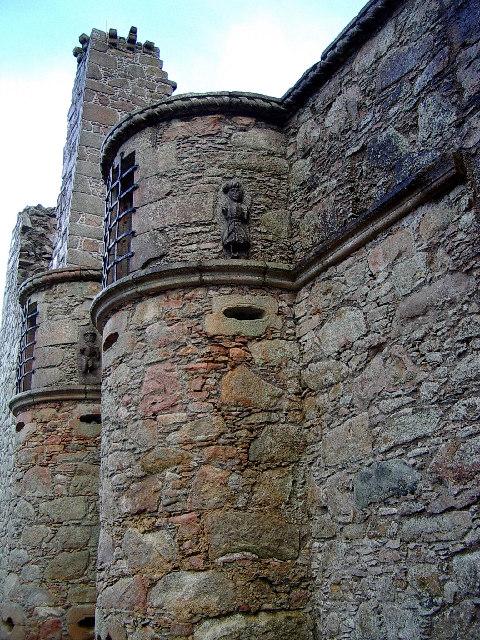 Tolquhon castle (detail)