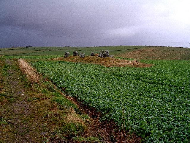 South Ythsie stone circle