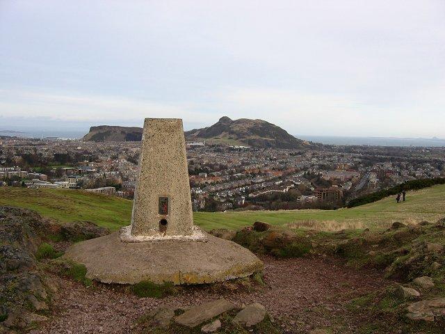 Blackford Hill summit.