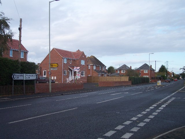 Longlevens  Road - A38 Junction.