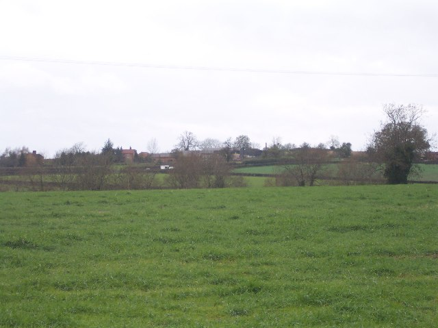 Looking over Pasture to Overton