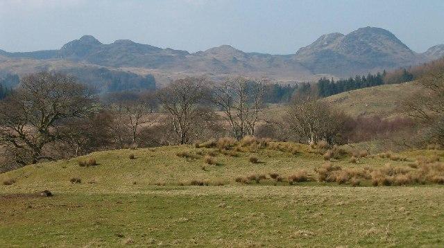 Looking North East from Glasvaar, Argyll