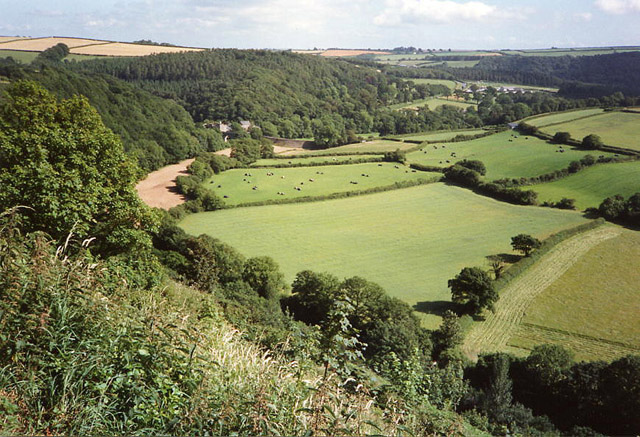 Little Torrington: the Torridge valley