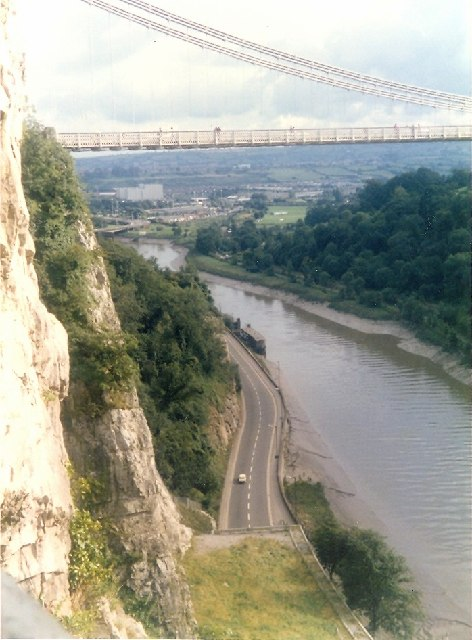 Clifton Suspension Bridge and the A4