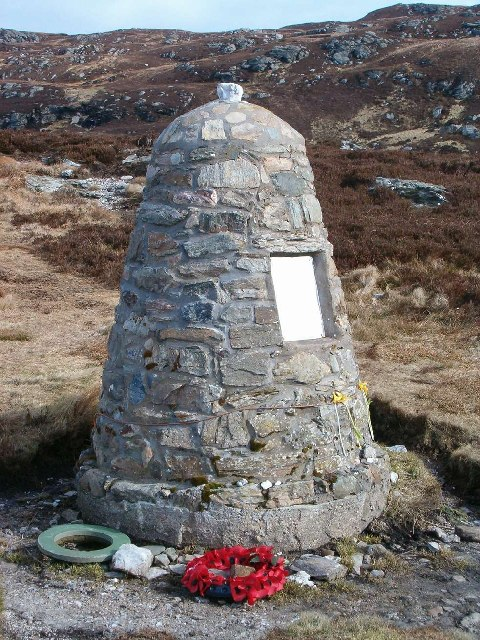 Chinook Monument, Mull of Kintyre