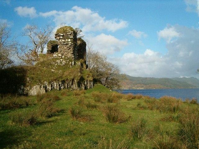 Fincharn Castle, Loch Awe, Argyll