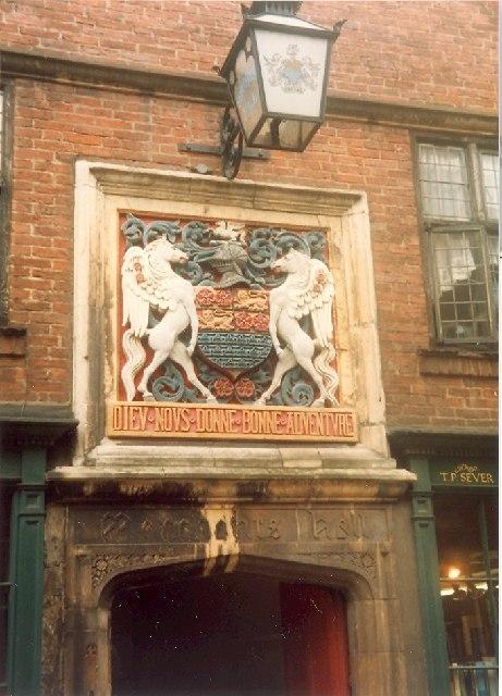 Merchant Adventurers' Crest, York