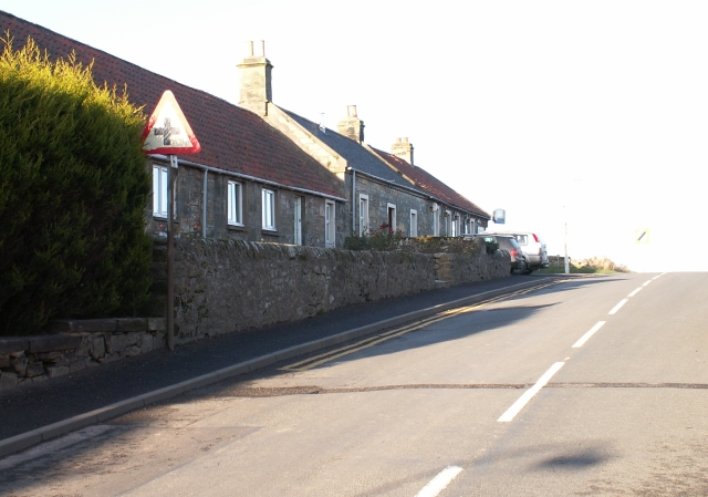 Strathkinnes, North end.