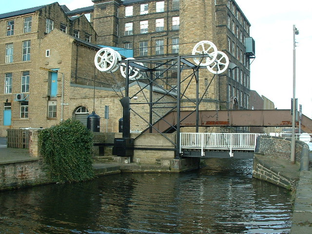 "'Locomotive Bridge"" Huddersfield"