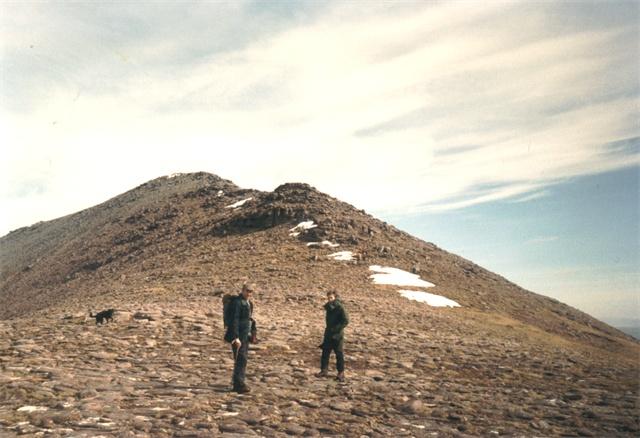 Paved ridge