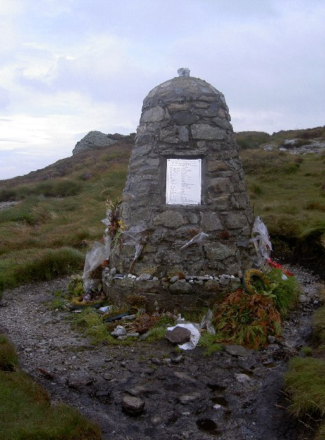 Memorial To The Chinook Crash