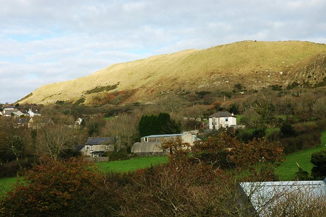 Lanjeth and the China Clay Waste Tip