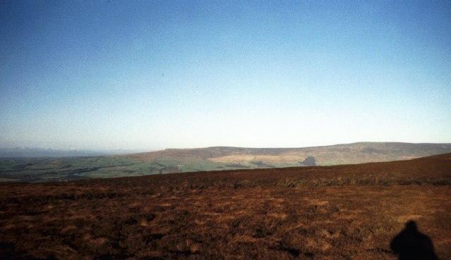 Looking towards Clougha  from Hawthornthwaite Fell