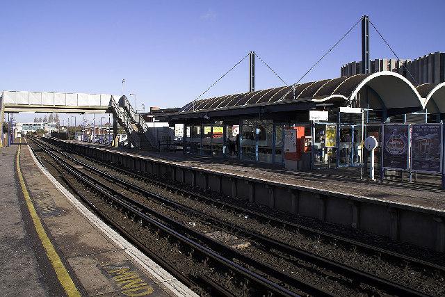 Poole Station, Dorset