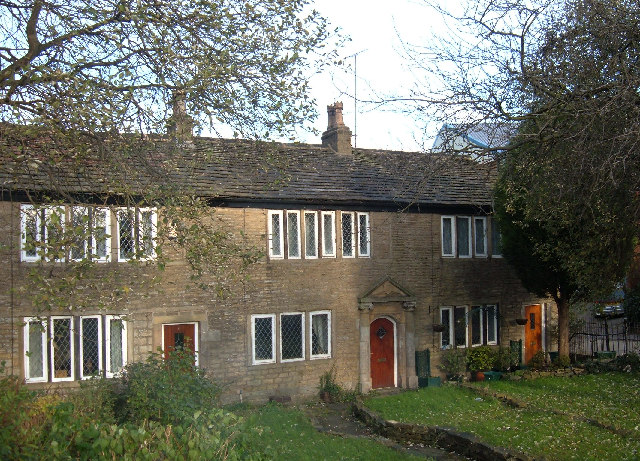 Stone cottages, Milnrow